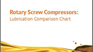 Rotary Screw Compressors: Lubrication Comparison Chart