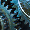 Dirty gears and oil