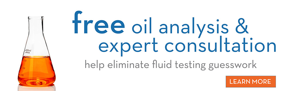 Learn More - Free Oil Analysis & expert Consultation - Help eliminate fluid testing guesswork